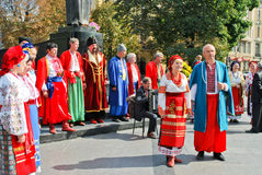 Ukrainian choir Royalty Free Stock Photos