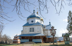 Ukrainian church. Stock Photo