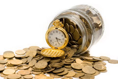 Ukrainian coins Royalty Free Stock Photo