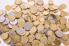 Ukrainian coins Stock Image