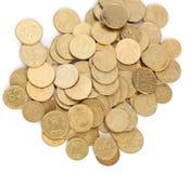 Ukrainian coins Stock Photography