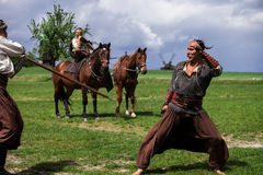 Ukrainian Cossacks Stock Image