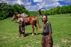 Ukrainian Cossacks Stock Photography