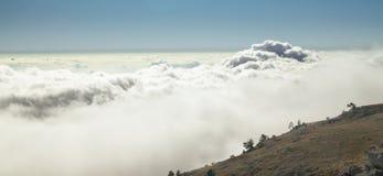 Ukrainian Crimean Mountains. Hiking in Ukrainian Crimean Mountains royalty free stock photo