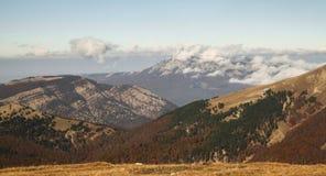 Ukrainian Crimean Mountains. Hiking in Ukrainian Crimean Mountains royalty free stock photos