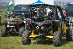 Ukrainian Cross-Country ATV competition Royalty Free Stock Photos