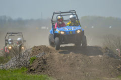 Ukrainian Cross-Country ATV competition Stock Image