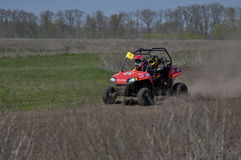 Ukrainian Cross-Country ATV competition Stock Photo