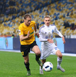 Ukrainian Cup quarterfinal game FC Oleksandria vs FC Dynamo Kyiv Royalty Free Stock Photo