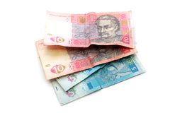 Ukrainian currency Stock Photography