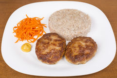 Ukrainian cutlets Royalty Free Stock Image