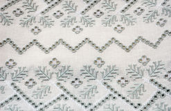 Ukrainian Cutwork Embroidery Stock Images