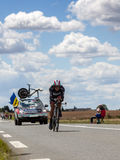 The Ukrainian Cyclist Popovych Yaroslav Royalty Free Stock Photos