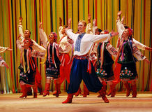 Ukrainian dance Royalty Free Stock Photos