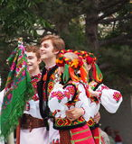 Ukrainian Dancers Royalty Free Stock Images