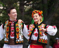 Ukrainian Dancers Stock Photo