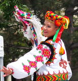 Ukrainian Dancers Stock Photos