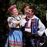 Ukrainian Dancers Royalty Free Stock Image