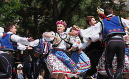 Ukrainian Dancers Stock Photography