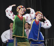 Ukrainian Dancers Stock Image