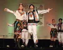 Ukrainian Dancers Stock Images