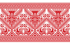 Ukrainian decorative ornament Royalty Free Stock Photos