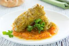 Ukrainian dish stuffed. Stock Photography