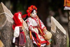 Ukrainian doll Stock Photo