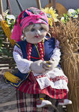 Ukrainian doll. On the town fair in honor of spring Royalty Free Stock Image