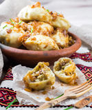Ukrainian dumplings Stock Photography