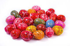 Easter Colorful  Eggs Stock Photos
