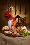 Ukrainian Easter Cuisine Stock Images