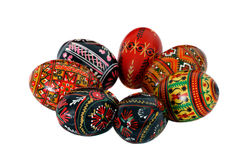 Ukrainian Easter Eggs. Seasonal religous holiday Royalty Free Stock Image