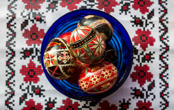 Ukrainian Easter Eggs Royalty Free Stock Images