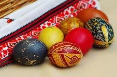 Ukrainian Easter eggs Stock Images