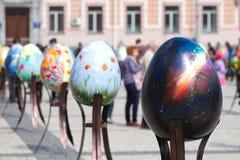 Ukrainian Easter Festival in Kiev Stock Photos