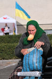 Ukrainian elector Stock Images