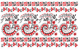 Ukrainian embroider berries Stock Image