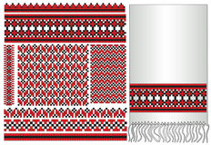 Ukrainian embroider folk element Royalty Free Stock Photos
