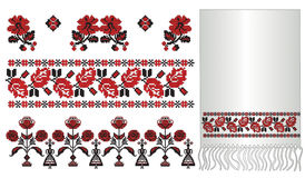 Ukrainian embroider pattern poltava Royalty Free Stock Photography