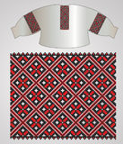 Ukrainian embroider shirt Royalty Free Stock Images