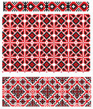 Ukrainian embroider texture Stock Photography