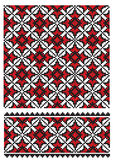 Ukrainian embroider texure Stock Photography