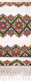 Ukrainian embroidered towel masters Royalty Free Stock Photos