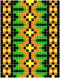 Ukrainian embroidery Stock Image