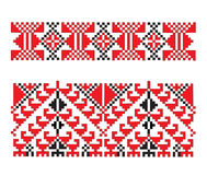 Ukrainian embroidery Stock Photography