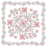 Ukrainian embroidery Royalty Free Stock Photo