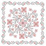 Ukrainian embroidery Royalty Free Stock Photo