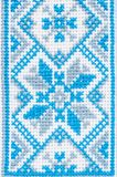 Ukrainian embroidery a fragment of male shirts Royalty Free Stock Photo