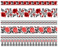 Ukrainian embroidery ornament Royalty Free Stock Image